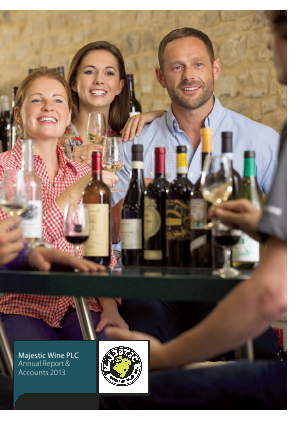Majestic Wine Plc annual report 2013