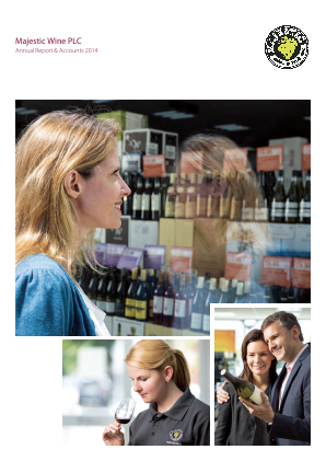 Majestic Wine Plc annual report 2014