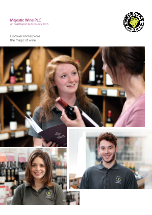 Majestic Wine Plc annual report 2015