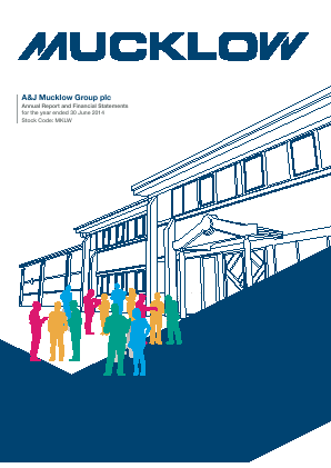 Mucklow(A&J) Group annual report 2014
