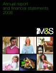 Marks & Spencer Group annual report 2006