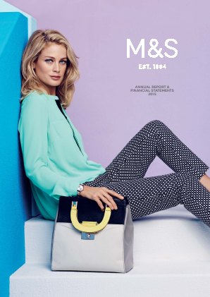 Marks & Spencer Group annual report 2015