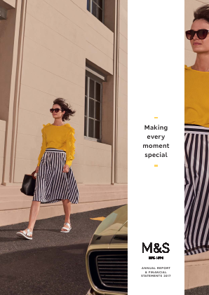 Marks & Spencer Group annual report 2017