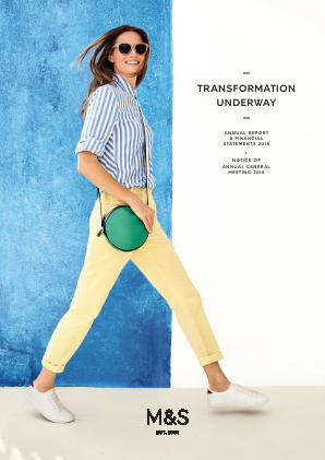 Marks & Spencer Group annual report 2018