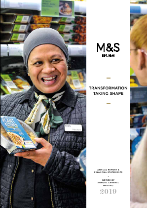Marks & Spencer Group annual report 2019