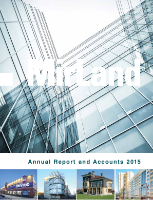 Mirland Development Corp Plc annual report 2015