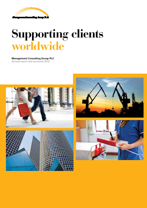 Management Consulting Group annual report 2012