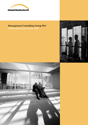 Management Consulting Group annual report 2013