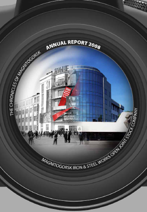 Magnitogorsk Iron & Steel Works annual report 2008