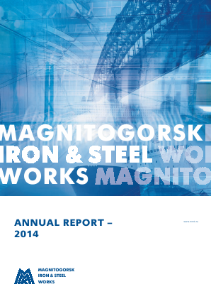 Magnitogorsk Iron & Steel Works annual report 2014