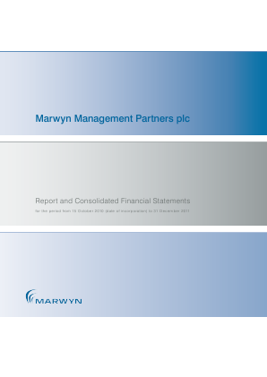 Marwyn Management Partners Plc annual report 2011