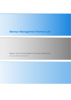 Marwyn Management Partners Plc annual report 2014