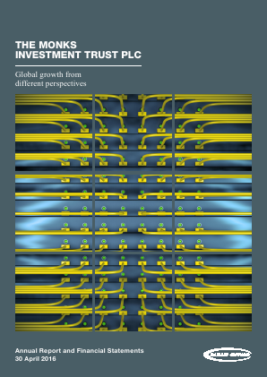 Monks Investment Trust annual report 2016