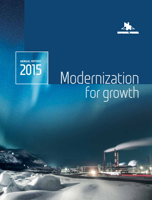 Norilsk Nickel annual report 2015