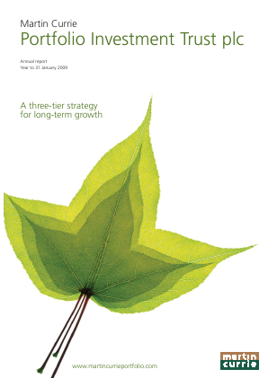 Martin Currie Global Portfolio Trust annual report 2009
