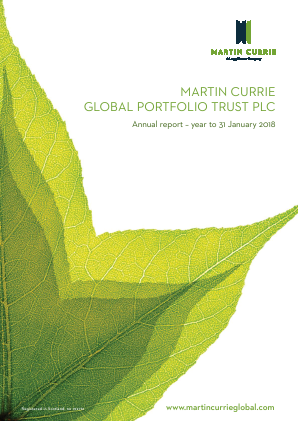 Martin Currie Global Portfolio Trust annual report 2018