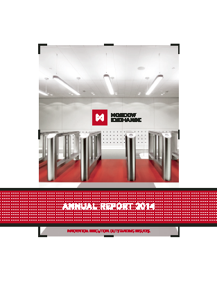 Moscow Exchange MICEX-RTS annual report 2014