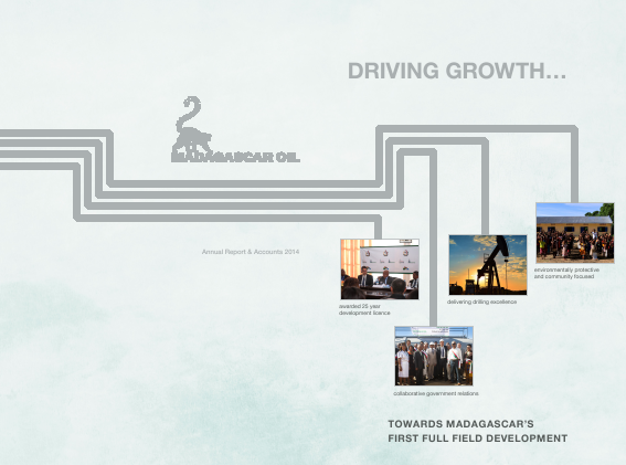 Madagascar Oil annual report 2014