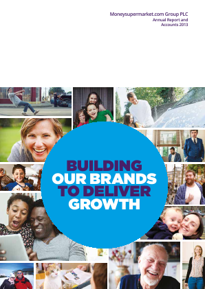 Moneysupermarket.com Group Plc annual report 2013