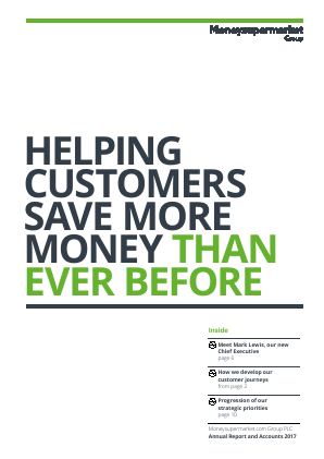 Moneysupermarket.com Group Plc annual report 2017