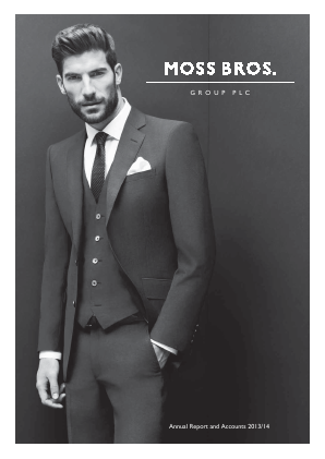 Moss Bros Group annual report 2014