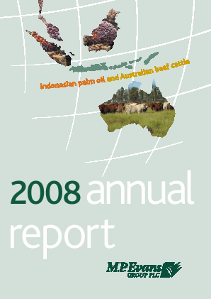 M.P.Evans Group annual report 2008