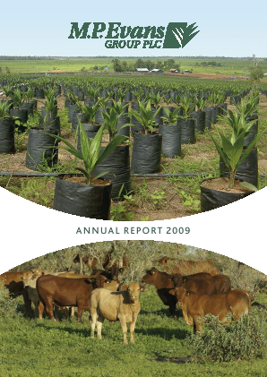 M.P.Evans Group annual report 2009