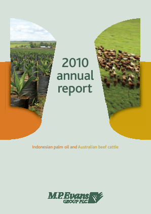 M.P.Evans Group annual report 2010