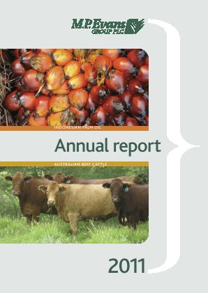 M.P.Evans Group annual report 2011
