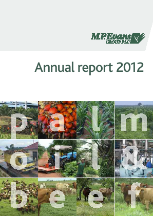 M.P.Evans Group annual report 2012