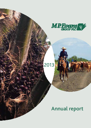 M.P.Evans Group annual report 2013