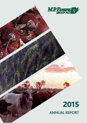 M.P.Evans Group annual report 2015