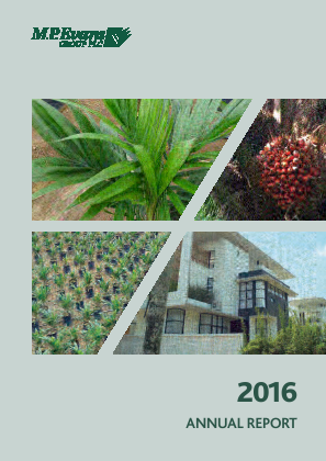 M.P.Evans Group annual report 2016
