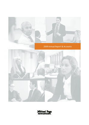 Page Group annual report 2009
