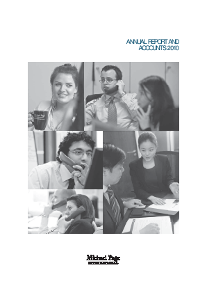 Page Group annual report 2010