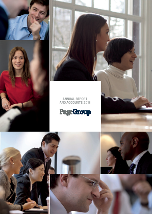 Page Group annual report 2013