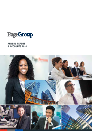 Page Group annual report 2014