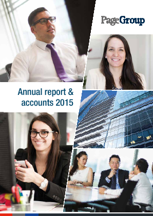 Page Group annual report 2015