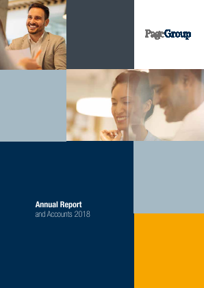 Page Group annual report 2018