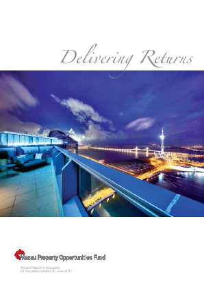 Macau Property Opportunities Fund annual report 2011