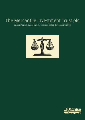 Mercantile Investment Trust Plc(The) annual report 2010