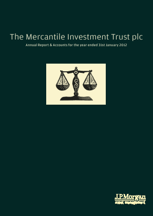 Mercantile Investment Trust Plc(The) annual report 2012