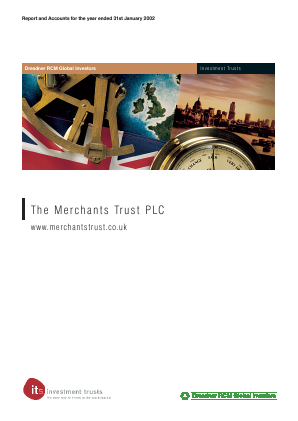 Merchants Trust annual report 2002