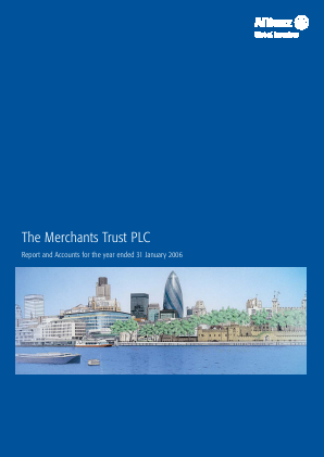 Merchants Trust annual report 2006