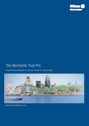 Merchants Trust annual report 2008