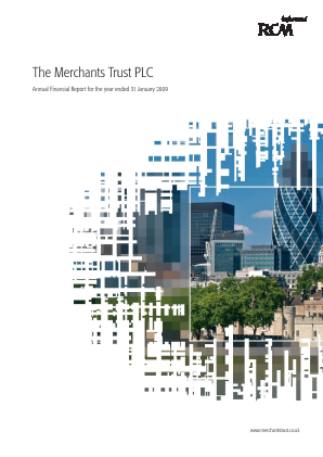 Merchants Trust annual report 2009