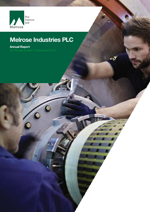 Melrose Industries Plc annual report 2014