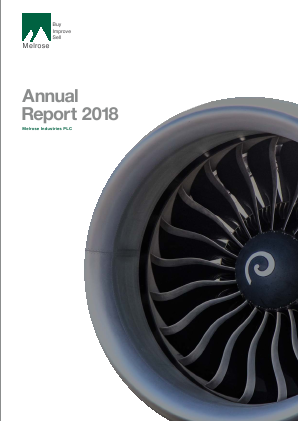 Melrose Industries Plc annual report 2018