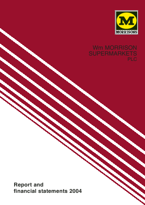Morrison(WM) Supermarkets annual report 2004