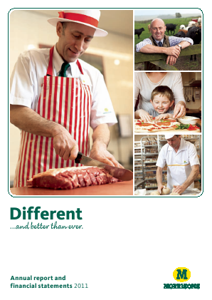 Morrison(WM) Supermarkets annual report 2011
